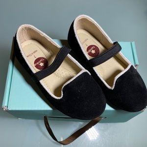 Twinkie velvet dress shoes BNIB size 7 toddler